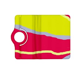Red and yellow design Kindle Fire HD (2013) Flip 360 Case