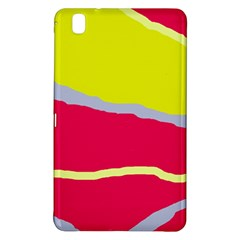 Red and yellow design Samsung Galaxy Tab Pro 8.4 Hardshell Case