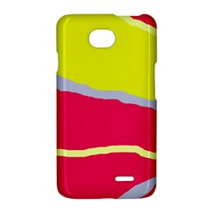 Red and yellow design LG Optimus L70