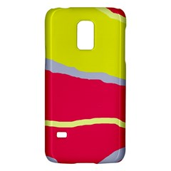 Red and yellow design Galaxy S5 Mini