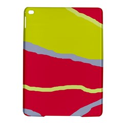 Red and yellow design iPad Air 2 Hardshell Cases