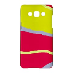 Red and yellow design Samsung Galaxy A5 Hardshell Case