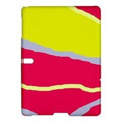 Red and yellow design Samsung Galaxy Tab S (10.5 ) Hardshell Case