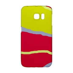 Red and yellow design Galaxy S6 Edge