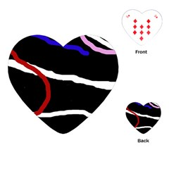 Decorative lines Playing Cards (Heart)