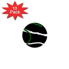 Decorative lines 1  Mini Magnet (10 pack)