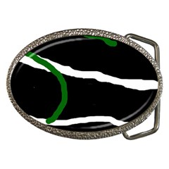 Decorative lines Belt Buckles