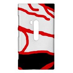 Red, black and white design Nokia Lumia 920