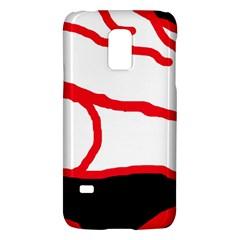 Red, black and white design Galaxy S5 Mini