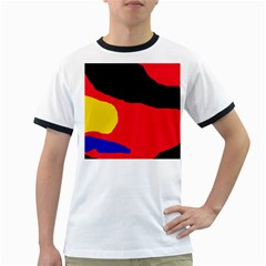 Colorful abstraction Ringer T-Shirts