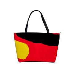 Colorful abstraction Shoulder Handbags