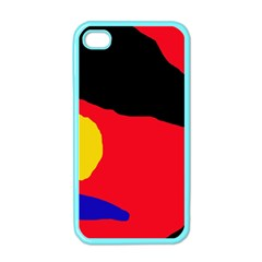 Colorful abstraction Apple iPhone 4 Case (Color)