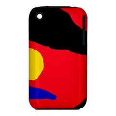 Colorful abstraction Apple iPhone 3G/3GS Hardshell Case (PC+Silicone)