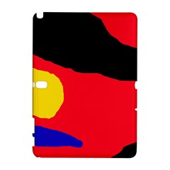 Colorful abstraction Samsung Galaxy Note 10.1 (P600) Hardshell Case