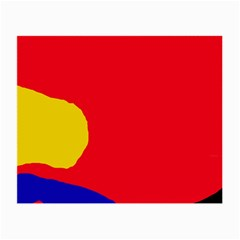 Colorful abstraction Small Glasses Cloth (2-Side)