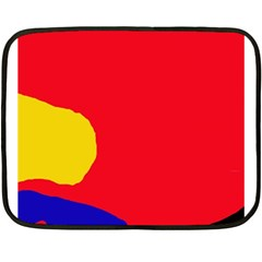 Colorful abstraction Double Sided Fleece Blanket (Mini)