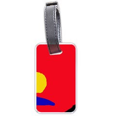 Colorful abstraction Luggage Tags (Two Sides)