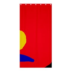 Colorful abstraction Shower Curtain 36  x 72  (Stall)