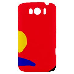 Colorful abstraction HTC Sensation XL Hardshell Case