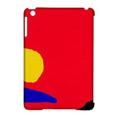 Colorful abstraction Apple iPad Mini Hardshell Case (Compatible with Smart Cover)