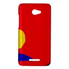 Colorful abstraction HTC Butterfly X920E Hardshell Case
