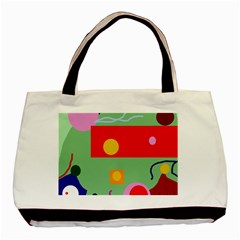 Optimistic abstraction Basic Tote Bag (Two Sides)