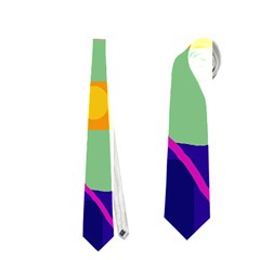 Optimistic abstraction Neckties (One Side)
