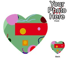 Optimistic abstraction Multi-purpose Cards (Heart)
