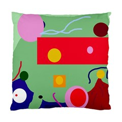 Optimistic abstraction Standard Cushion Case (Two Sides)