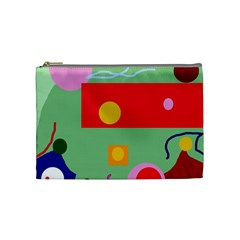 Optimistic abstraction Cosmetic Bag (Medium)