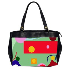Optimistic abstraction Office Handbags (2 Sides)