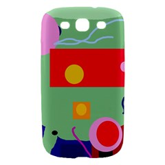 Optimistic abstraction Samsung Galaxy S III Hardshell Case