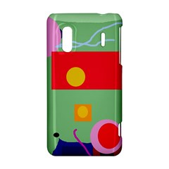 Optimistic abstraction HTC Evo Design 4G/ Hero S Hardshell Case