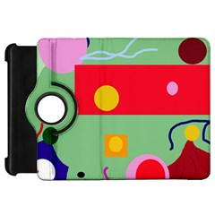 Optimistic abstraction Kindle Fire HD Flip 360 Case