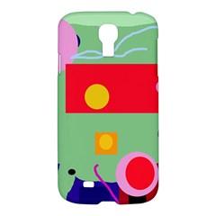 Optimistic abstraction Samsung Galaxy S4 I9500/I9505 Hardshell Case