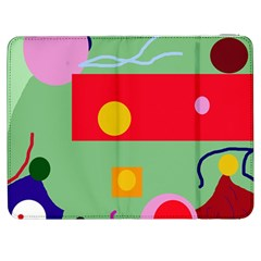 Optimistic abstraction Samsung Galaxy Tab 7  P1000 Flip Case