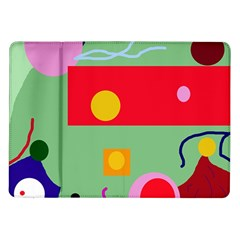 Optimistic abstraction Samsung Galaxy Tab 10.1  P7500 Flip Case