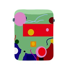 Optimistic abstraction Apple iPad 2/3/4 Protective Soft Cases
