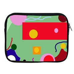 Optimistic abstraction Apple iPad 2/3/4 Zipper Cases