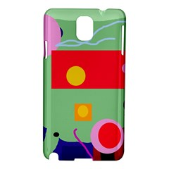 Optimistic abstraction Samsung Galaxy Note 3 N9005 Hardshell Case