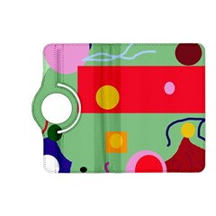 Optimistic abstraction Kindle Fire HD (2013) Flip 360 Case