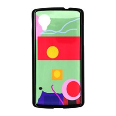 Optimistic abstraction Nexus 5 Case (Black)
