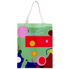 Optimistic abstraction Classic Light Tote Bag