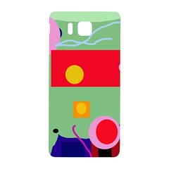 Optimistic abstraction Samsung Galaxy Alpha Hardshell Back Case