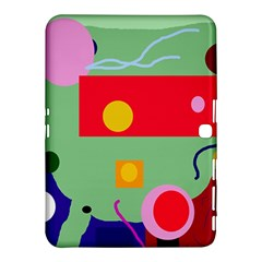 Optimistic abstraction Samsung Galaxy Tab 4 (10.1 ) Hardshell Case