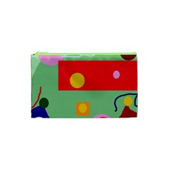 Optimistic abstraction Cosmetic Bag (XS)