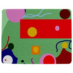 Optimistic abstraction Jigsaw Puzzle Photo Stand (Rectangular)