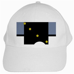 Abstract design White Cap