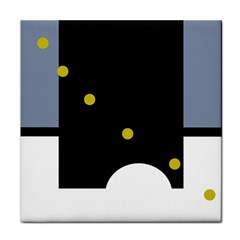 Abstract design Tile Coasters