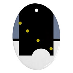 Abstract design Ornament (Oval)